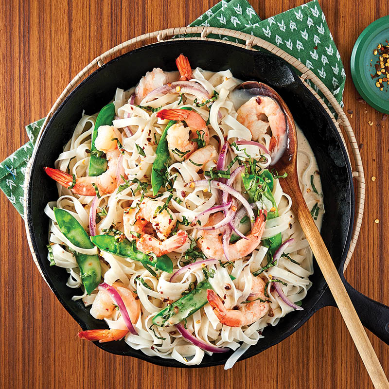 Coconut Shrimp Noodles