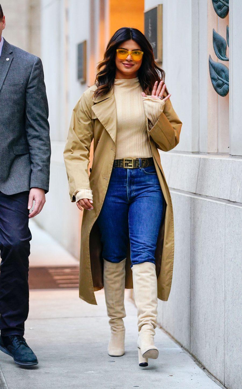 Priyanka Chopra Wears Knee High Boots
