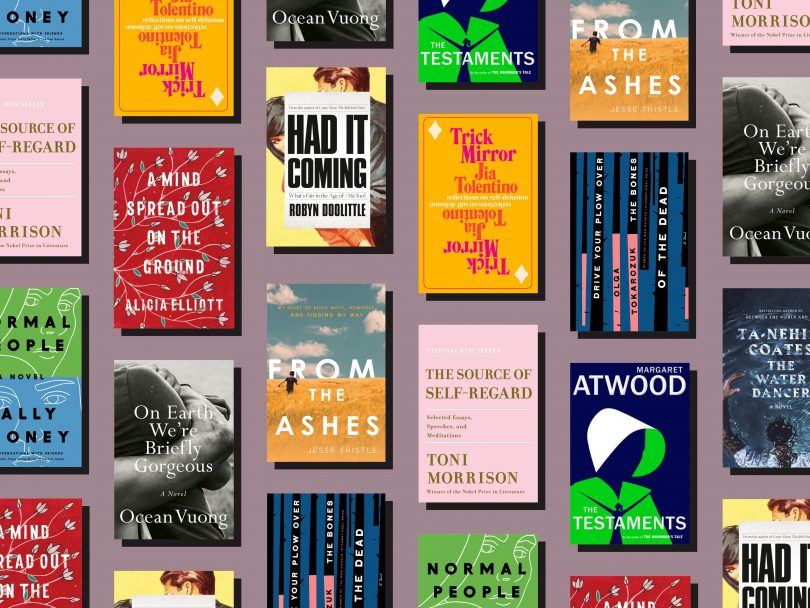 best books 2019 feature image shows tiled pattern of all book covers