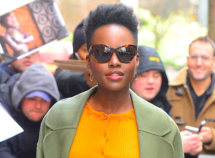 Lupita Nyong'o has type 4 curl pattern hair