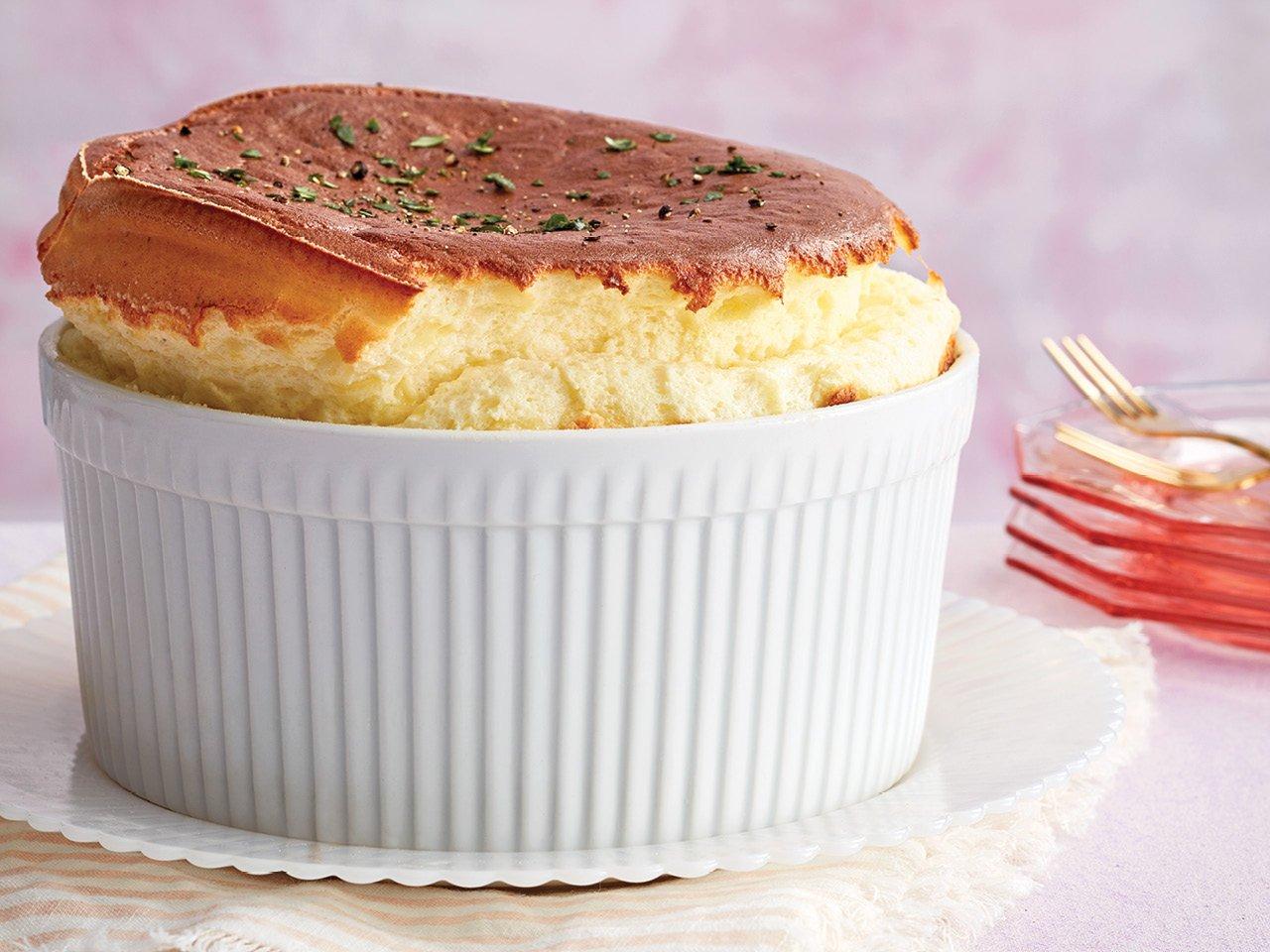 Savoury Cheese Souffle