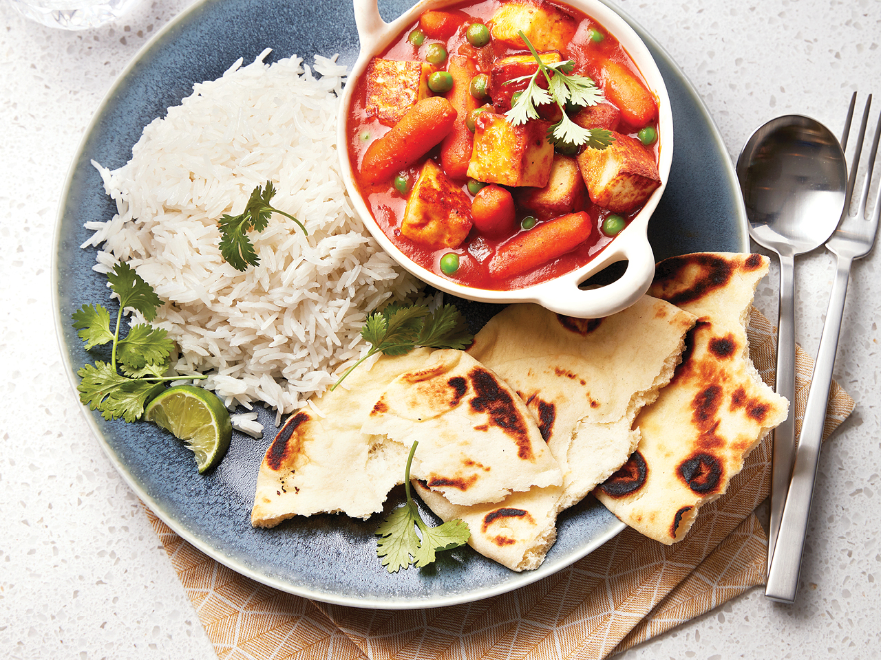 Paneer & Carrot Curry