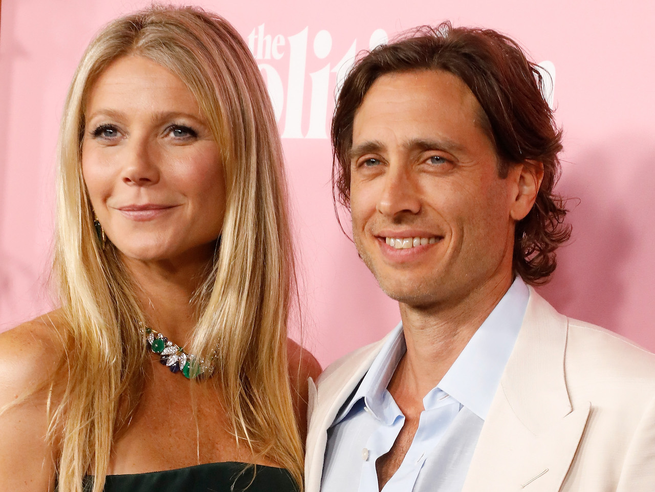 "Gwyneth Paltrow and Brad Falchuk attend the premiere of Netflix's ""The Politician"" at DGA Theater on September 26, 2019 in New York City. (Photo by Taylor Hill/FilmMagic)"