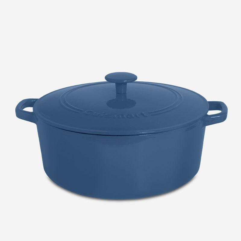 Dark Blue Dutch Oven