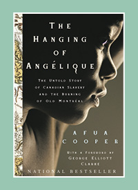 The cover of The Hanging of Angelique.