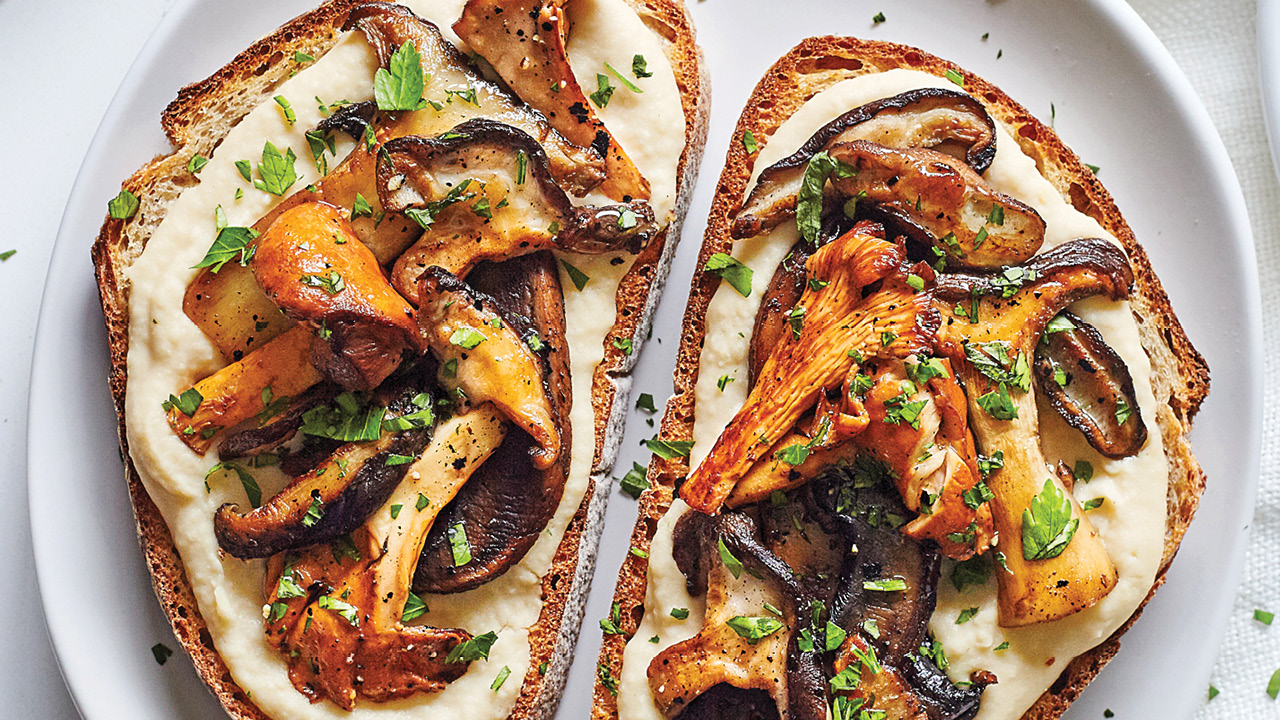 Mushrooms on Toast