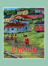 "The cover of ""Africville"" by Shauntay Grant."