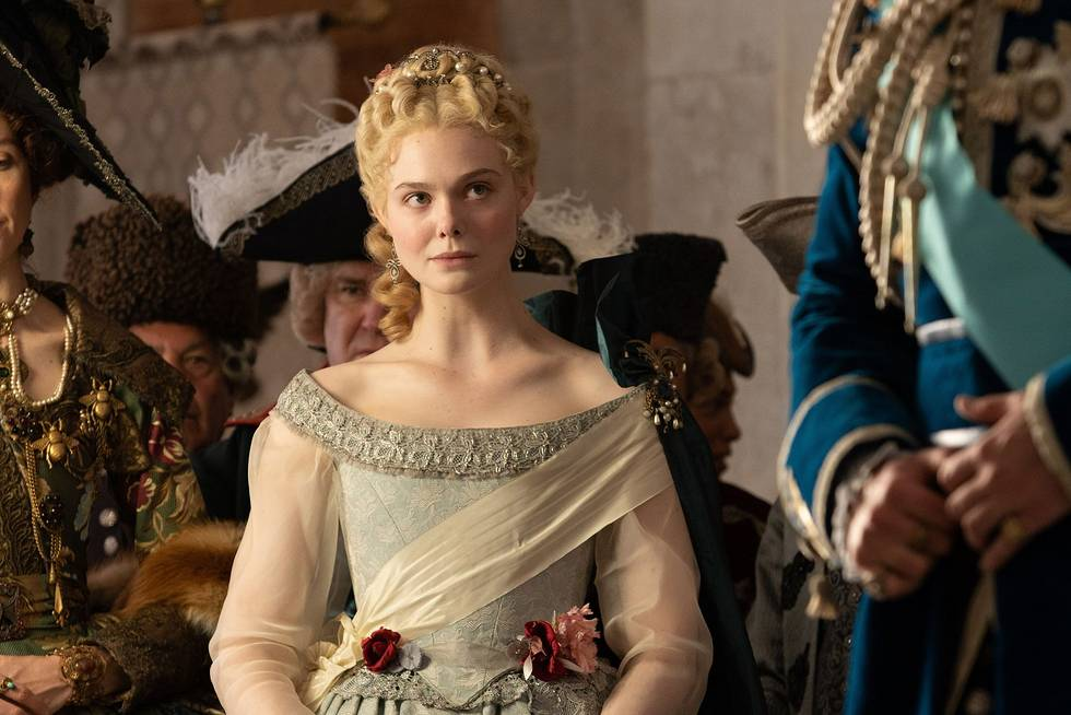 Elle Fanning stars in the title role of the Amazon Prime Video show The Great, streaming now in Canada