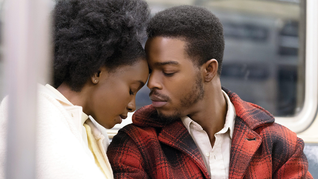 "A photo of KiKi Layne and Stephan James in ""If Beale Street Could Talk."""