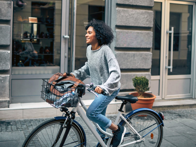 photo of woman on bike for a piece on how to buy a bike