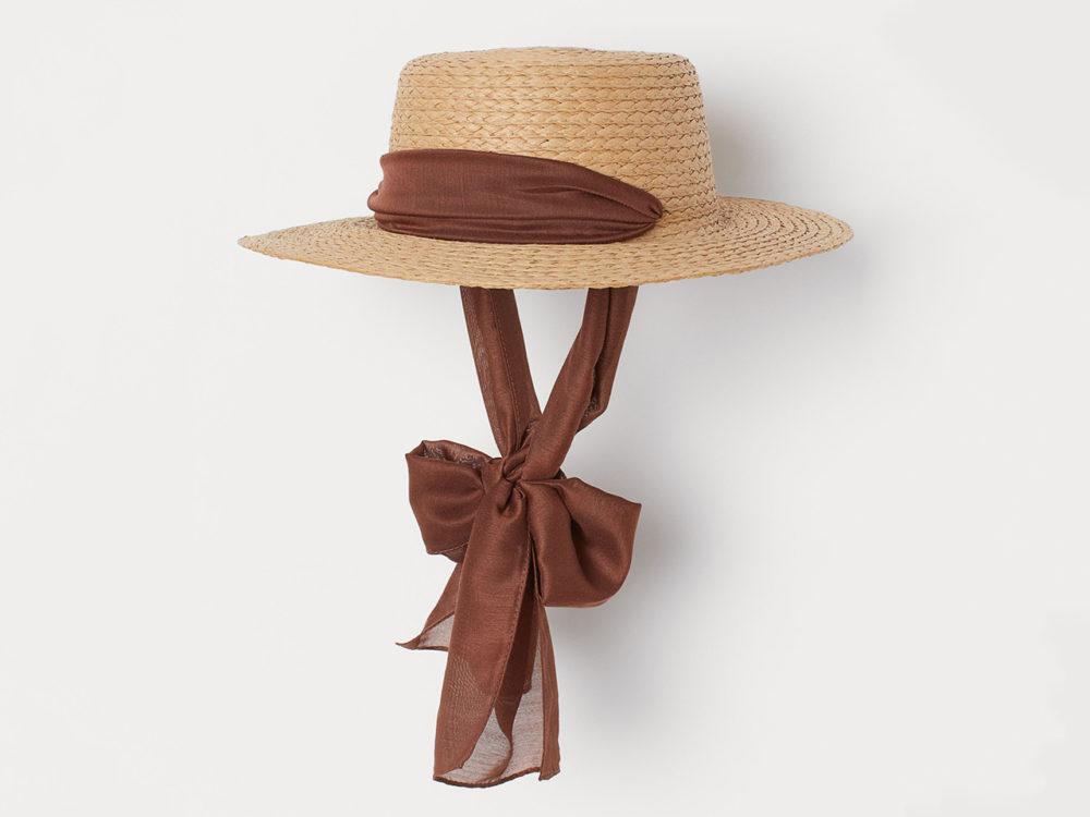 H&M Chin-Tie Straw Hat