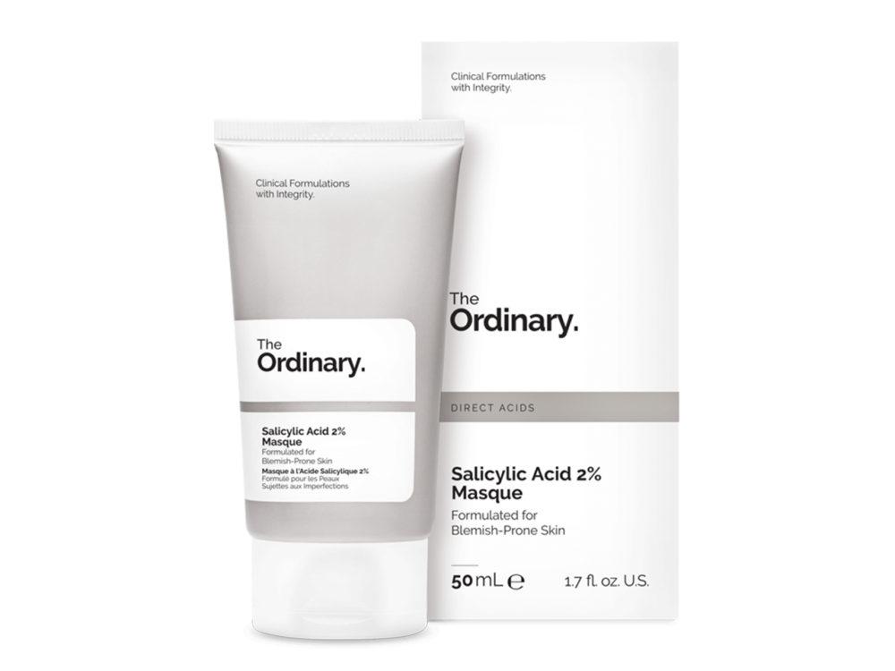 The Ordinary Salicylic Acid 2% Masque, Skincare Acids