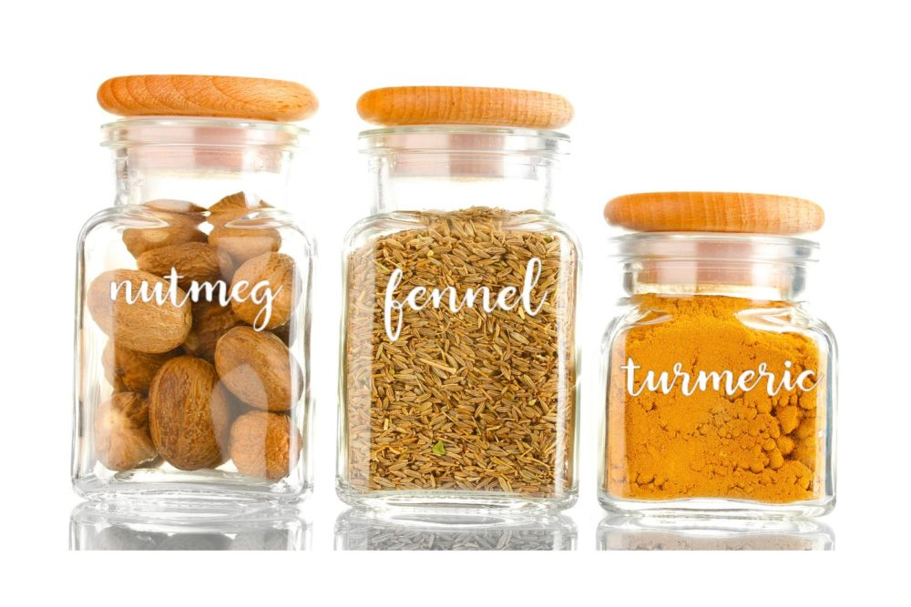 """<p>Spice Jar Labels, from $3, <a href=""""https://www.etsy.com/ca/listing/729476807/spice-jar-labels-spice-labels-pantry?ref=shop_home_active_6&frs=1&bes=1"""" target=""""_blank"""" rel=""""noopener"""">etsy.com.</a></p>"""