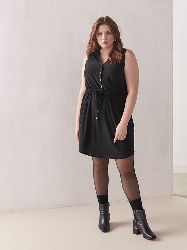 Penningtons Sleeveless Shirt Dress