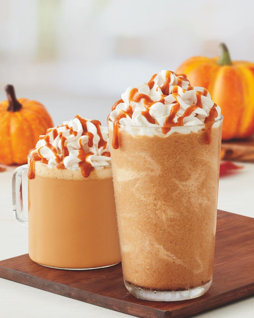 Tim Hortons Almond Pumpkin Spice Latte