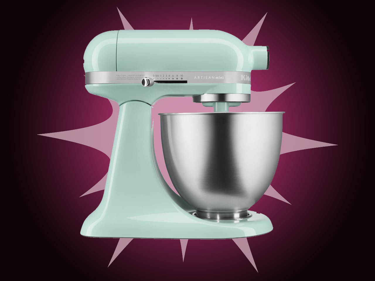 A turquoise kitchenaid stand mixer for a piece on whether you really need to buy a stand mixer