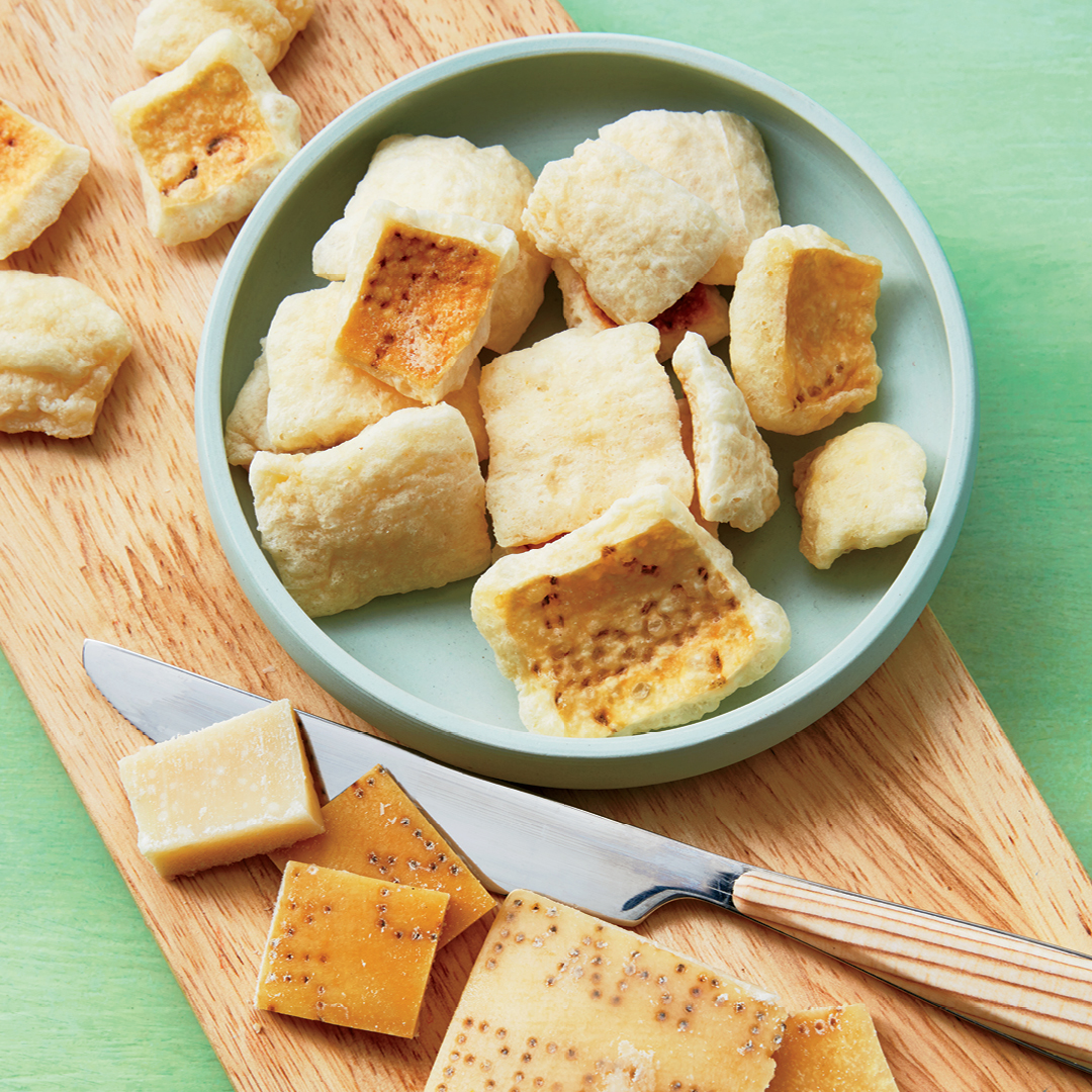 Parmigiano-Reggiano Rind Croutons
