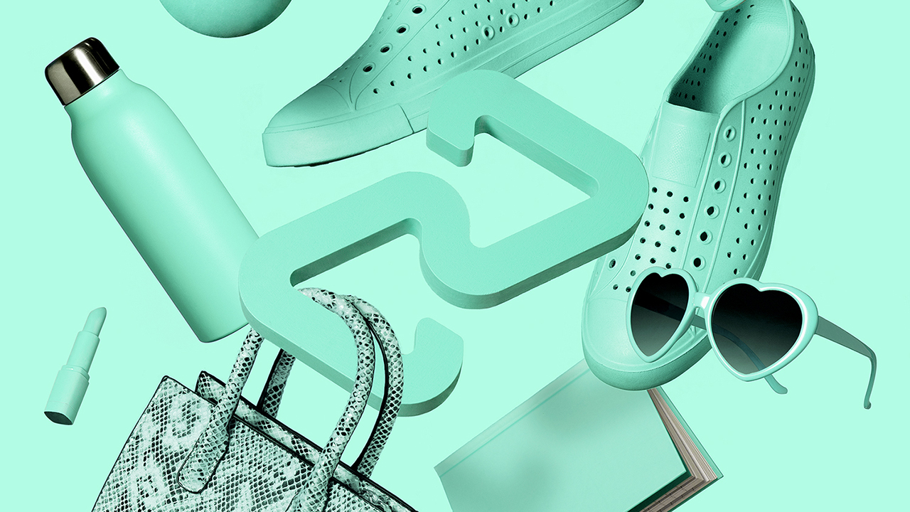 a mosaic of various retail items, including shoes and purses, for a piece on what is afterpay and how it works in Canada, An FAQ