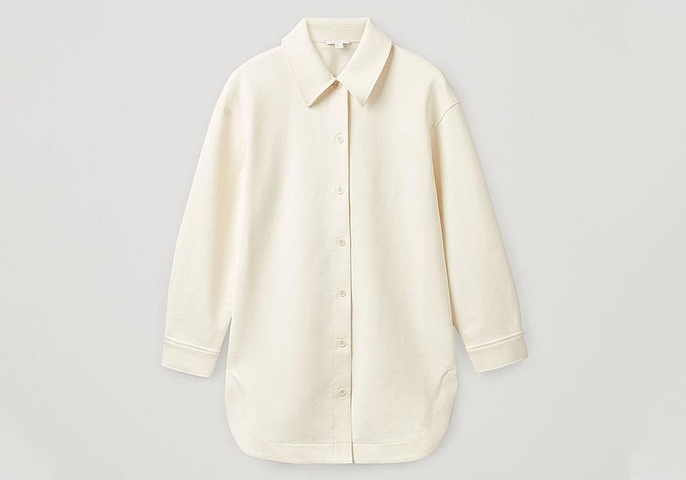 COS Organic Cotton Mix Overshirt