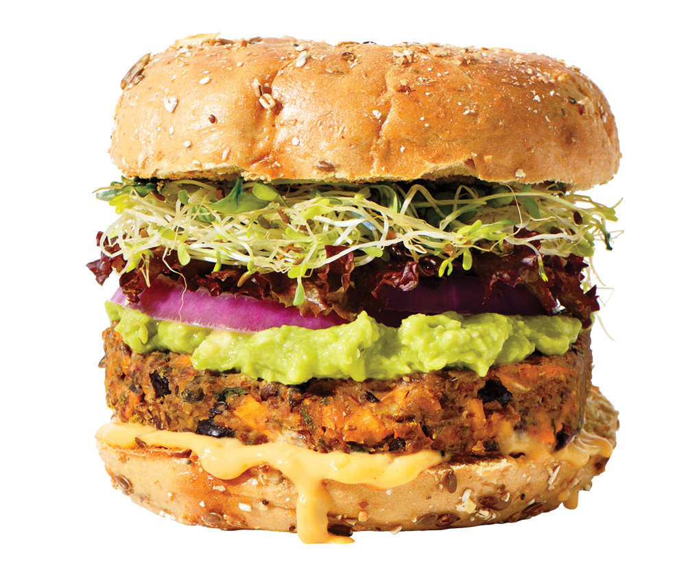 The meat and dairy industry will get into the plant-based game by offering products mixed with plant-based ingredients, like beef-and-lentil burger