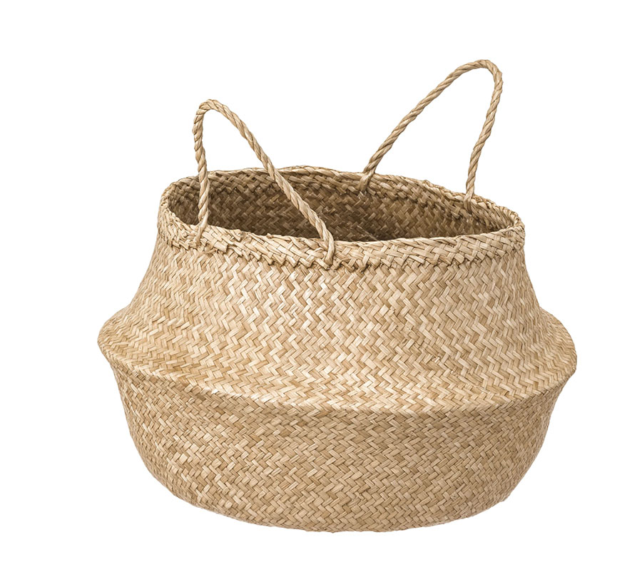 Ikea FLÅDIS Basket, seagrass