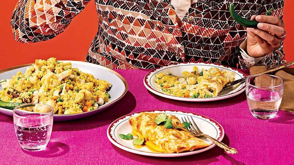 Vegetarian Bengali Khichuri. Radiyah Chowdhury, Assistant Editor.
