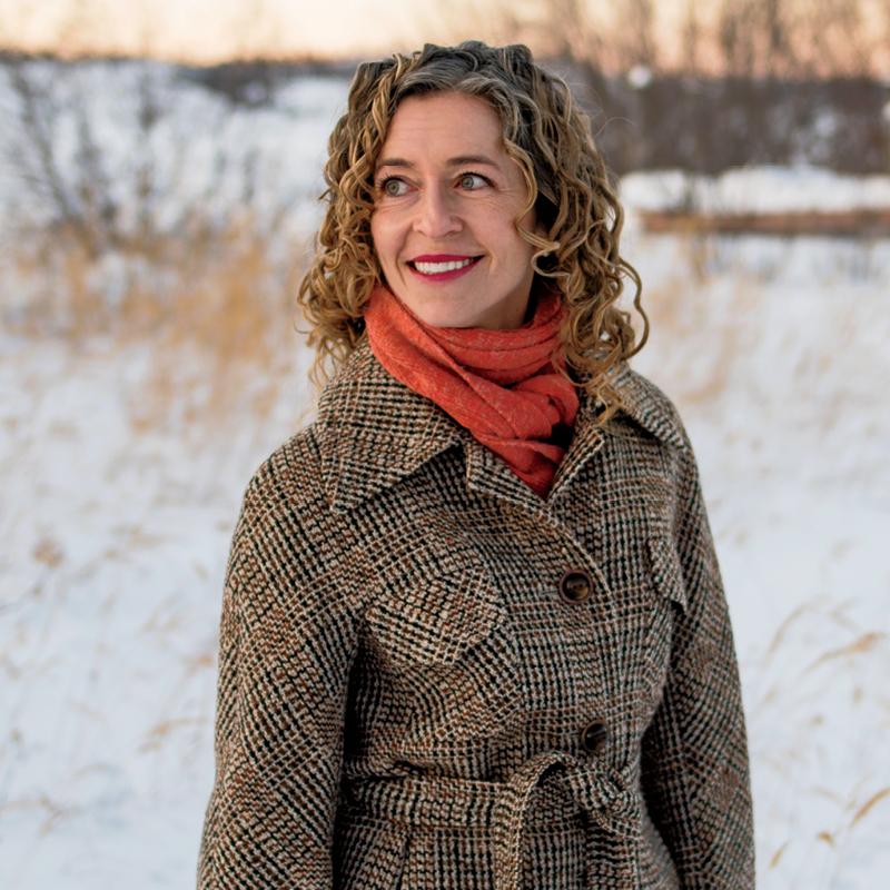 A photo of Yellowknife doctor Courtney Howard.