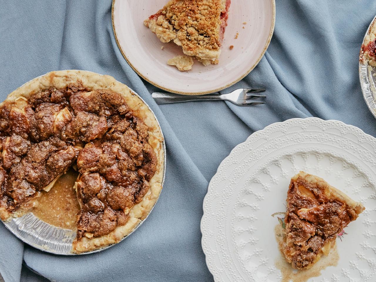 Vegan Dutch Apple Pie