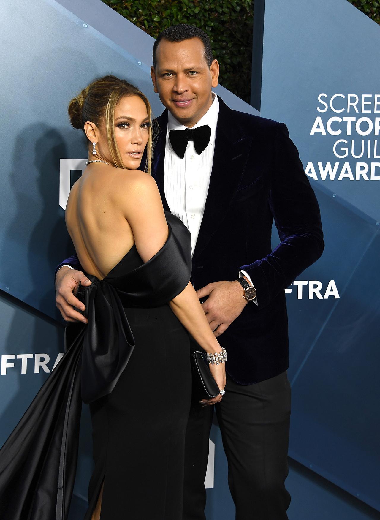 Jennifer Lopez and Alex Rodriguez in 2020. (Photo: Steve Granitz/WireImage)