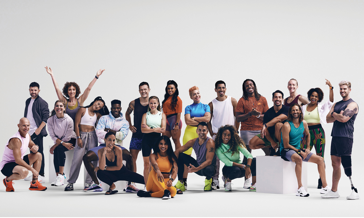 The Apple Fitness+ trainers