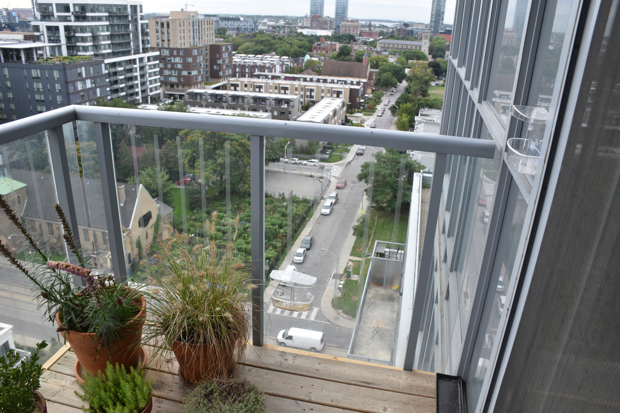 ollidescape on balcony
