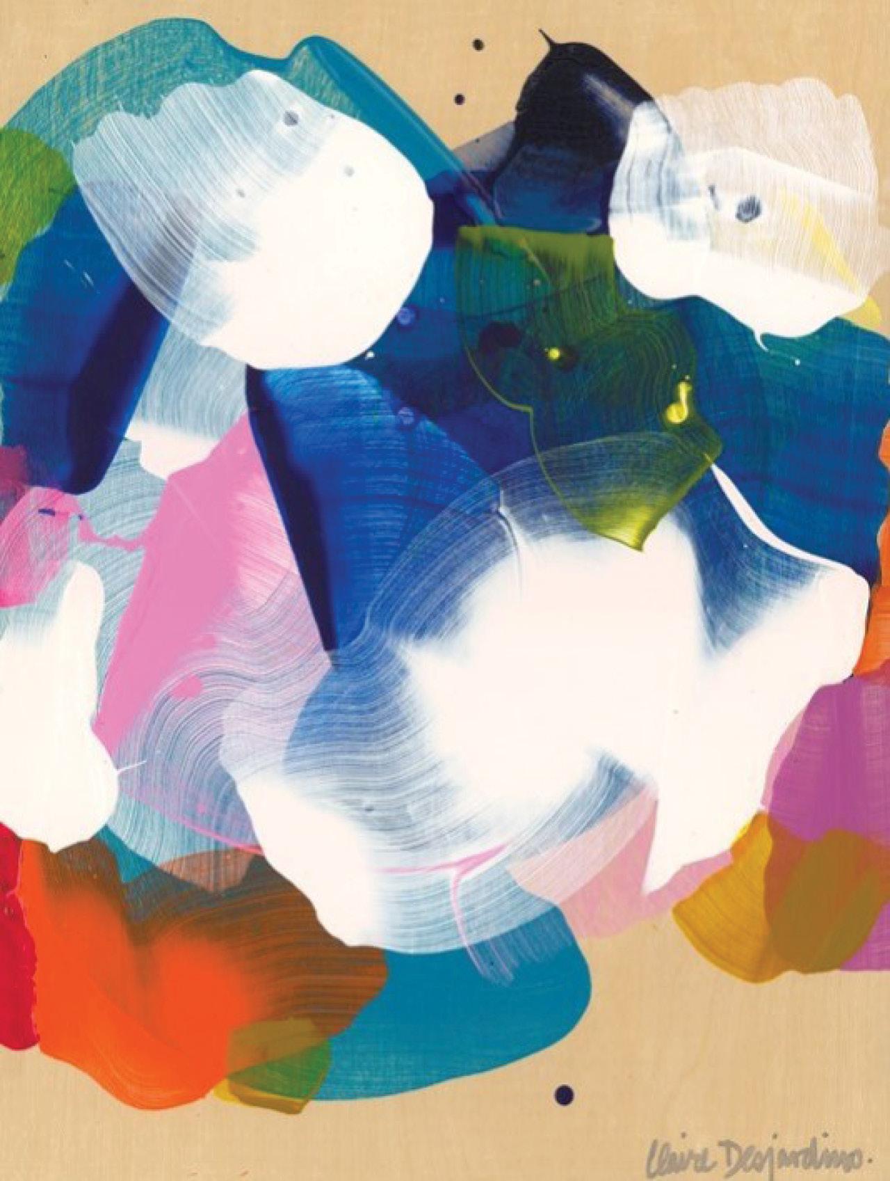 Claire Desjardins, SoCal 06, acrylic on panel