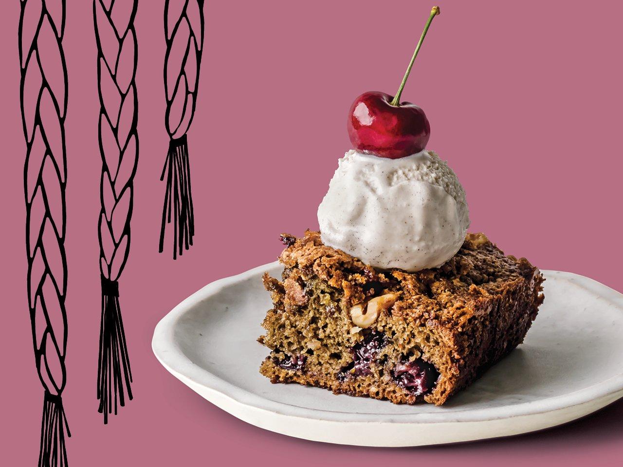 Sweetgrass Cherry Cake