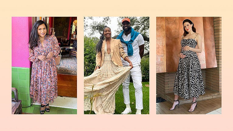 Celebrities wearing the empire dress.