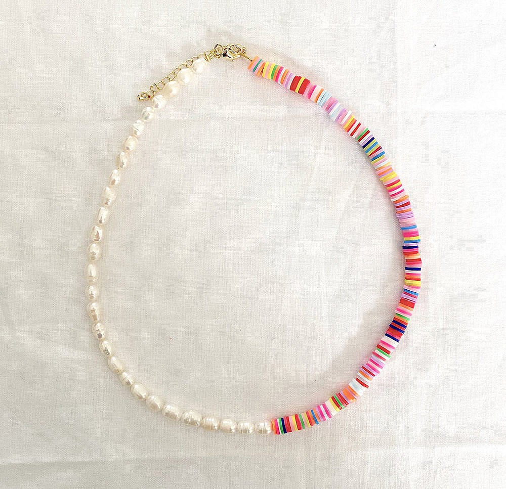 Honey Harbour Designs Pearl Choker Necklace